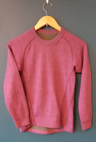 Bluzka z welna z merynosa, koszulka termiczna dwuwarstwowa Devold 152/