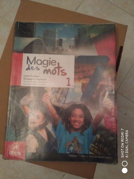 Livro Francês - Magie des Mots 7º ano