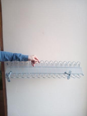 Ikea SIGNUM  Maskownica do kabli pozioma, srebrny 70 cm