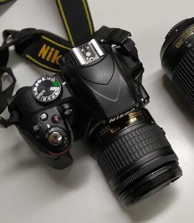 Máquina Fotográfica Nikon D3300 + Lente 18-55mm
