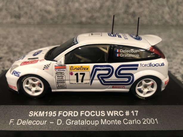 Ford Focus WRC #17 Rally Monte Carlo 2001 skala 1:43