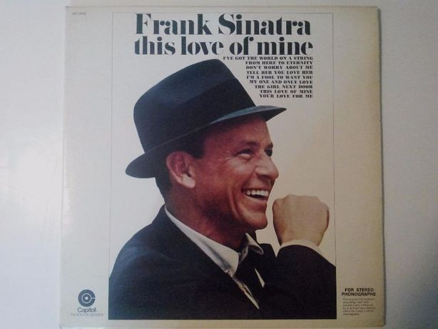 Lp Frank Sinatra-This love is mine