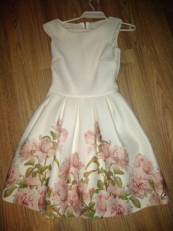 Sukienka weselna piankowa 36
