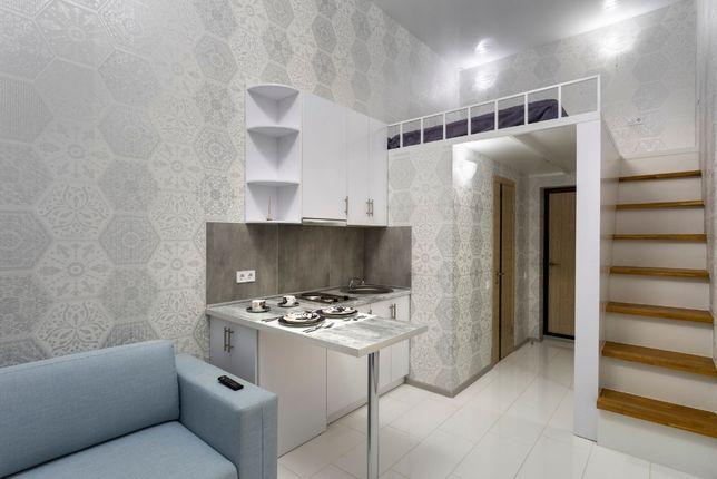 Уютная 1к. 2х-уровневая квартира в новострое!