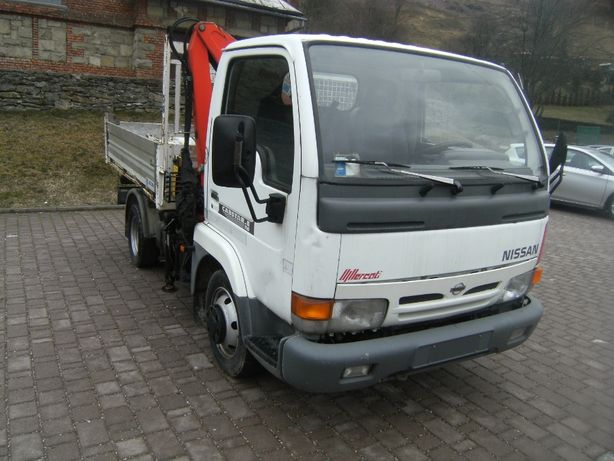 NISSAN CABSTAR HDS Palfinger WYWROTKA iveco daily renault mascot