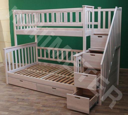 двухъярусная кровать Жасмин 3, двоповерхове ліжко, кровать двухїярусна