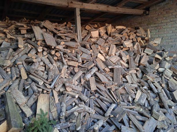 Drewno opałowe suche rąbane