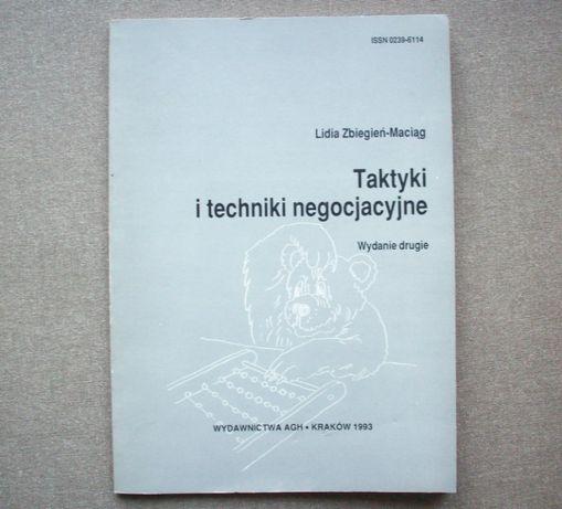 Taktyki i techniki negocjacyjne, L. Zbiegień-Maciąg, 1993.