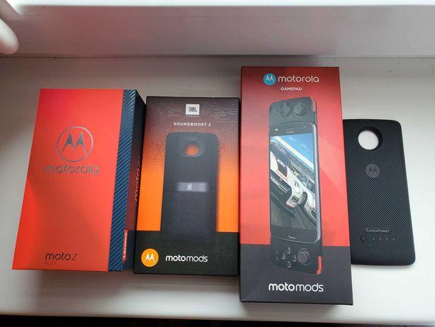 Motorola Moto Z3 Play 4/64 /komplet/ SUPER mega ZESTAW /POLECAM
