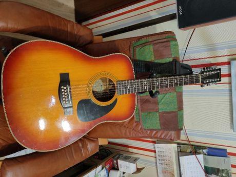 Gitara akustyczna 12 strunowa yamaha fg 412sb II