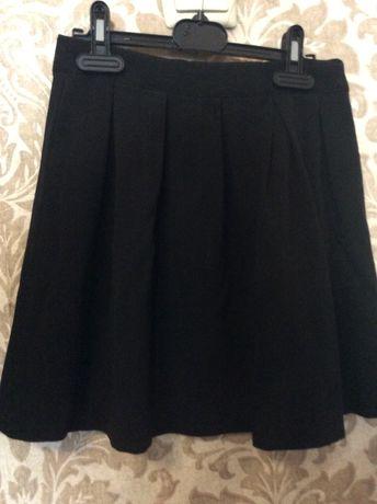 Школьная чёрная юбка CollClab Smyk (Польша) 128 р.