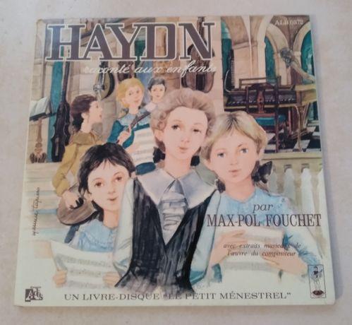 LP + livro de música infantil anos 60