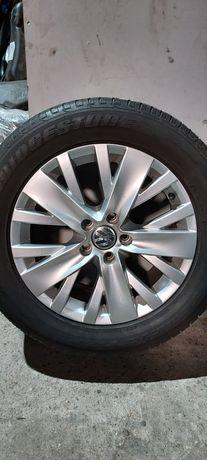 Oryginalne Koła VW Tiguan 5N0 235/55R17 Bridgestone Dueler hp