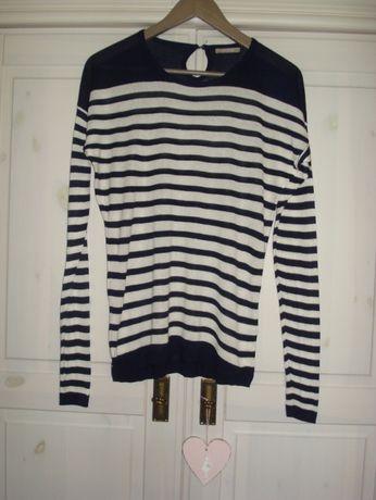 ORSAY marynarski sweterek S