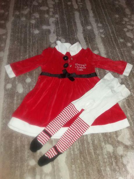 Платье для девочки 3-6мес.для новогодней фотосессии