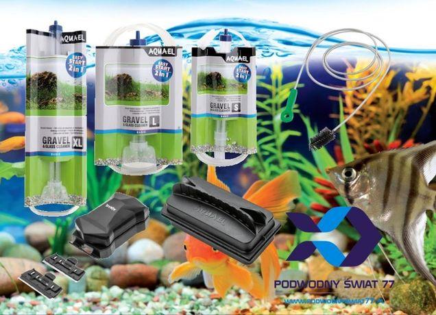 Aquael Odmulacze, Czyściki Magnetyczne 2w1 Magnetic Cleaner, Gravel