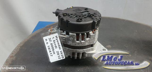Alternador 130A Usado HYUNDAI/ix20 (JC)/1.6 CRDI | 06.11 - REF. 2611067 / 37300...