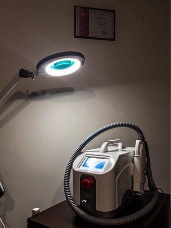 Лазер для удаления татуировок и карбонового пилинга