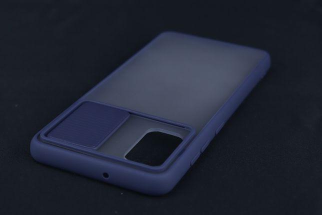 Capa Samsung Galaxy A41 Rígida Bumper Proteção Câmara Azul E*P. GRÁTIS