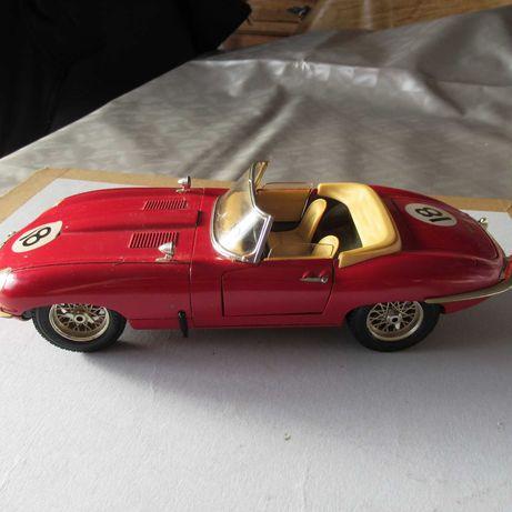 jaguar E em metal 1961 esc 1:18 Burago usado