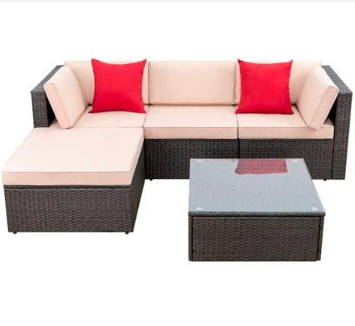 Набор садовой мебели комплект из ротанга меблі РОТАНГ