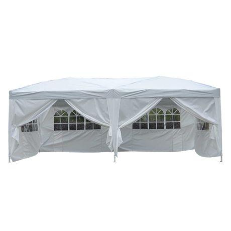 Namiot Ogrodowy Pawilon Biały 3x6 m