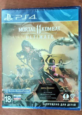 Mortal Kombat 11 Ultimate Edition. Новые русские Диски для РS4