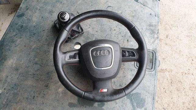 Audi s4 a4 Kierownica Orginalna Łopatki Multifunkcja