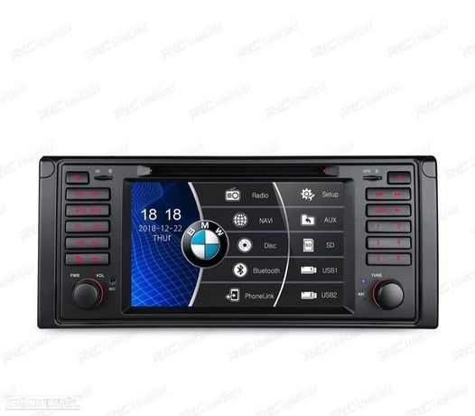 "AUTO RADIO 2DIN 7"" BMW SERIE 5 E39 95-03 USB GPS TACTIL HD"