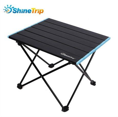 Легкий складной стол ShineTrip для пикника кемпинга вес 1.3 кг