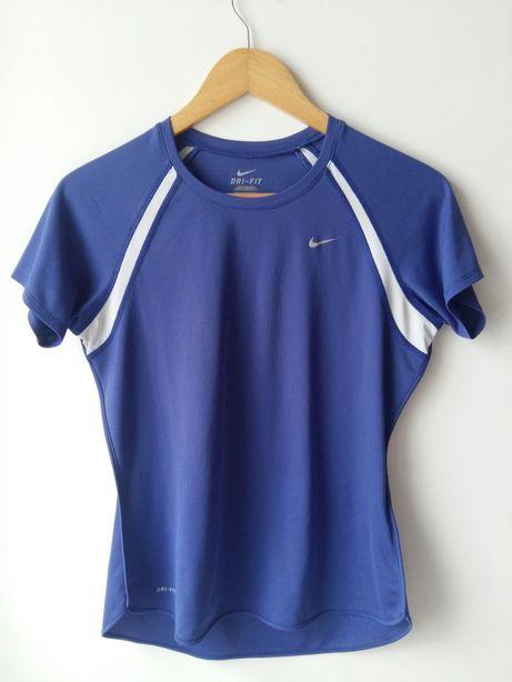Nike sportowy t-shirt niebieski r. M