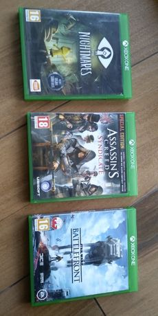 Star Wars Battelfront, Assassin's Creed Syndicate, Little Nightmares