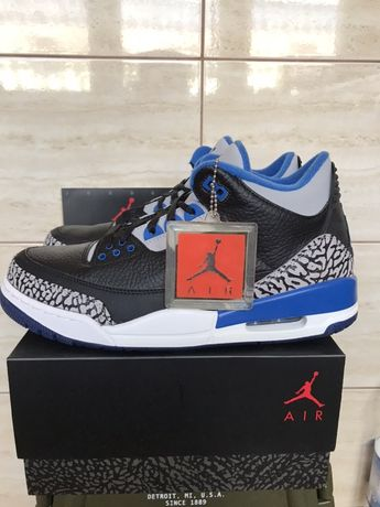 Air Jordan retro 3 SPORT BLUE