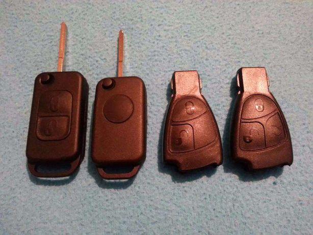 Carcaça capa comando chave mercedes 1 2 3 botoes