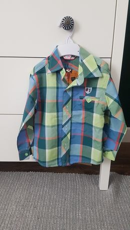 Koszula z długim rękawem 2-3 lata