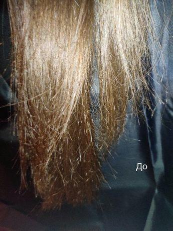 Полировка волос ,убираем помеченные концы-сохраняем длину!