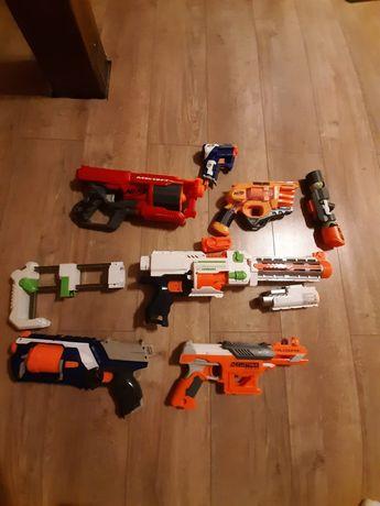 Pistolety nerf zestaw