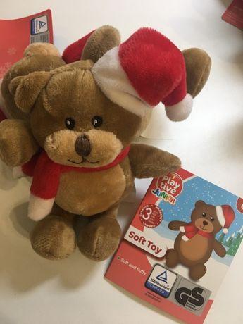 Іграшки мякі нові для діток малишей ігрушки Playtive миколай ведмеді