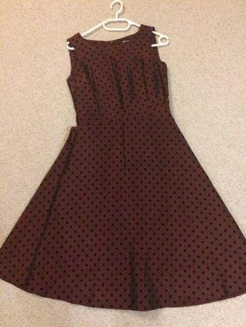Suknia w groszki, Simona, rozmiar 36