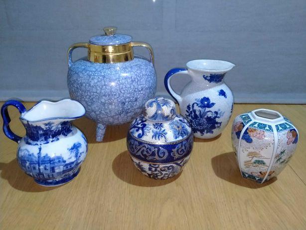 Jarros e potes decorativos de louça (Disponíveis em separado)