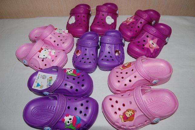 Новые сандалии, кроксы, шлепки Vitaliya Украина разные размеры и цвета