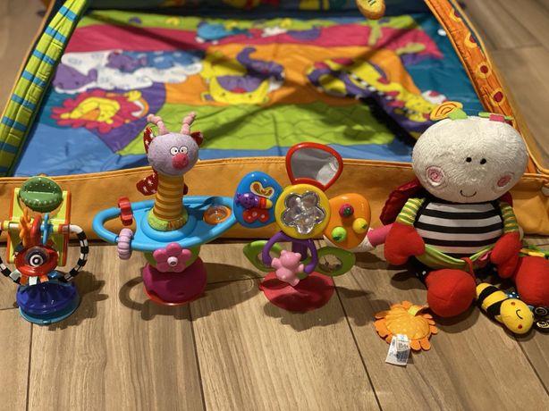 Игровой коврик Tiny love, игрушки на присоске для малышей