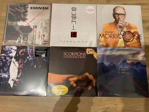Płyty winylowe - Nosowska, Scorpions, Kravitz, Morricone i wiele innyc