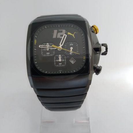 Relógio Puma Charger aço Novo em caixa