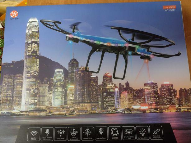 Super dron podświetlany wi-fi