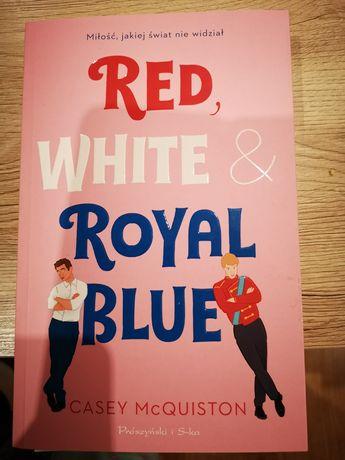 Red white & royal blue książka
