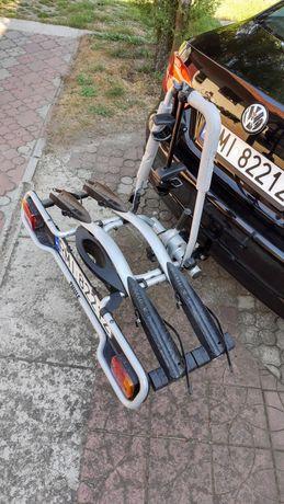 Wypożyczę bagażnik rowerowy na haka Thule na dwa rowery, wynajem