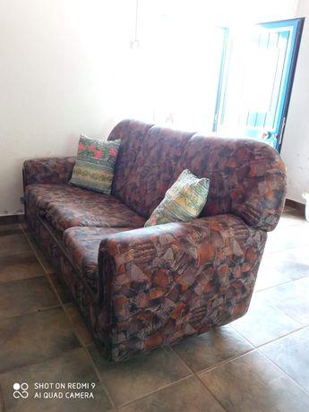 Sofá 3 Lugares c/ cama