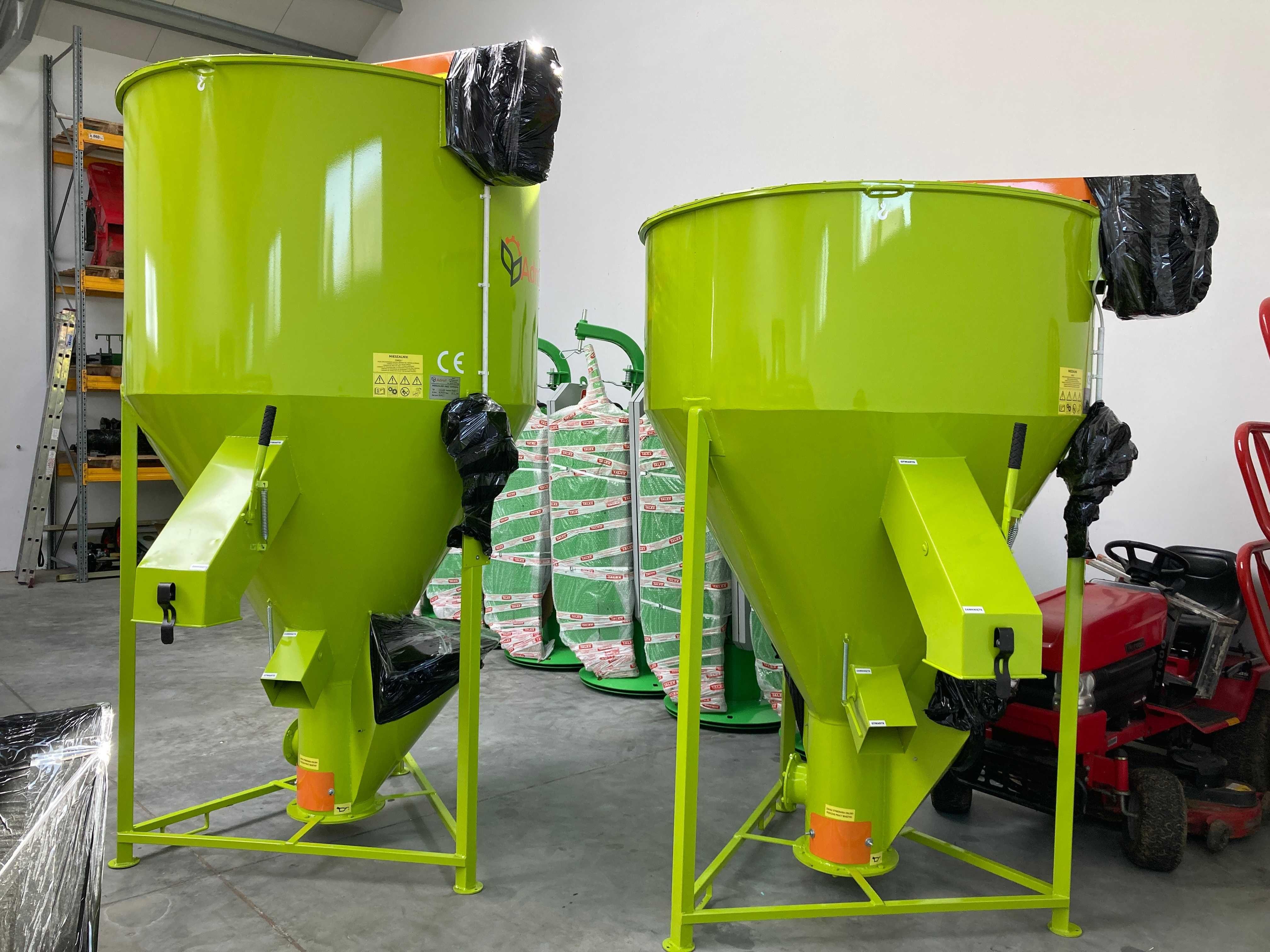 Mieszalnik pasz Twister Adraf 750 kg 1000 kg NOWY 2021 OKAZJA
