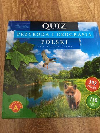 Gra quiz przyroda i geografia